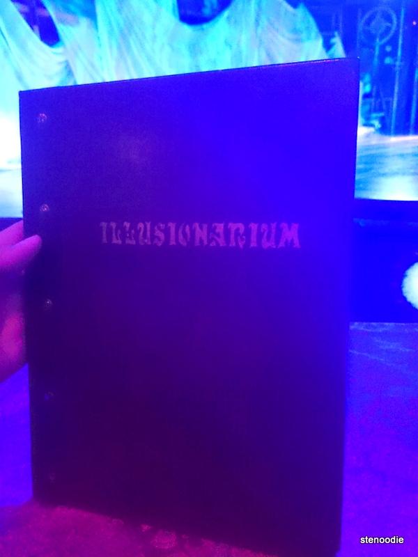 Illusionarium menu