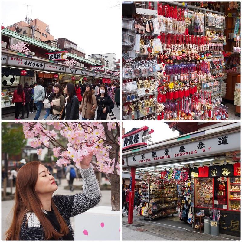 Asakusa Nakamise Shopping Street