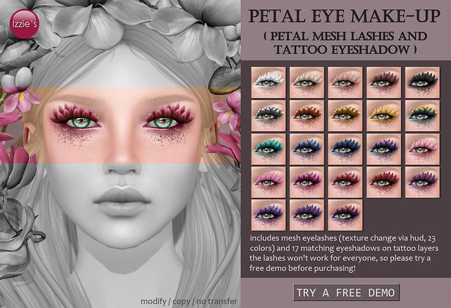 Petal Eye Make-Up
