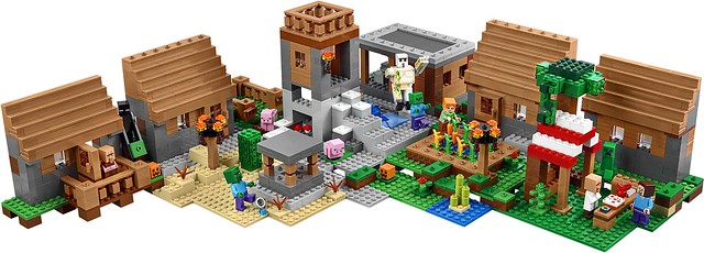 LEGO Minecraft 21128 The Village 04