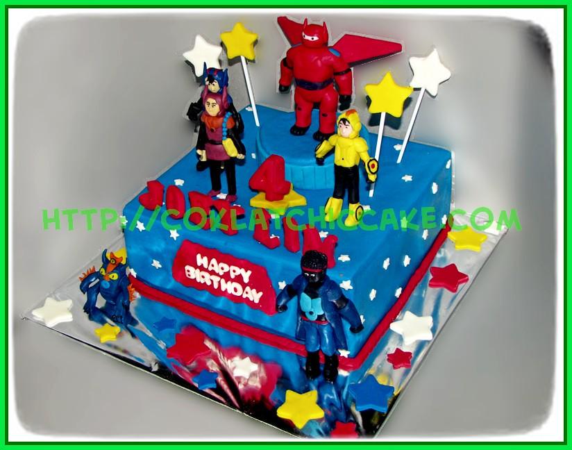 Cake Big Hero 6