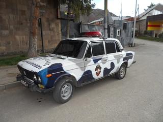 Military police Lada in Vayk