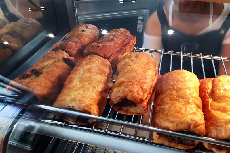 Sausage rolls, La Renaissance Cafe Patisserie