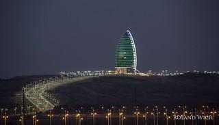 Ashgabat by night