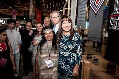 Ministra Magali Silva inaugura ferias Perú Moda y Perú Gift Show 2016