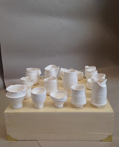 More Tiny Porcelain Pots