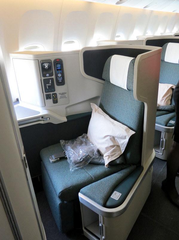 CX 777 300ER HKG to JNB