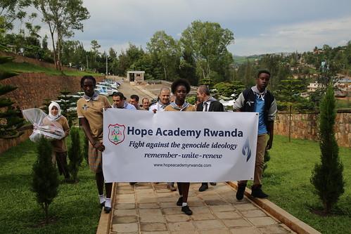 Hope Academy Kigali visit the Kigali Genocide Memorial