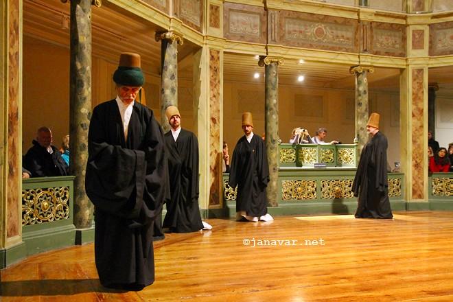 Galata Mevlevihanesi whirling dervish hall in Beyoğlu, Istanbul