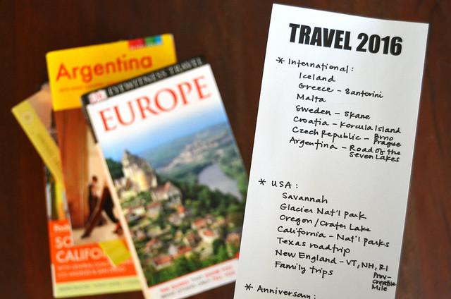 travel planning 2016