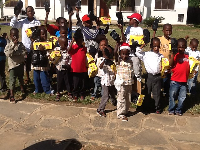 New Shoes for GLO Children
