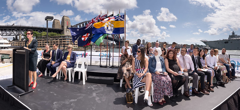 Australia Day 2016 citizenship ceremony