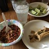 Time for breakfast. #HappyNewYear! #chili #tamales #MoscowMule