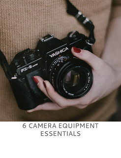 Not Dressed As Lamb | 6 Camera Equipment Essentials