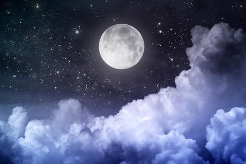Фази Місяця впливають на кількість опадів на Землі