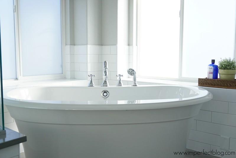 master bathroom with freestanding tub.  Master Bathroom Remodel