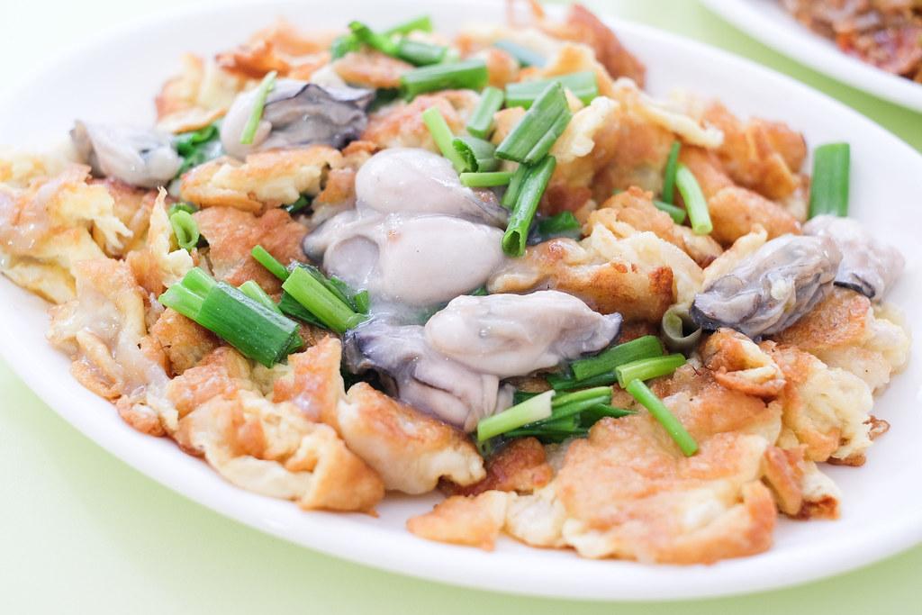 Mei Shi Quan's Oyster Omelette @ Ci Yuan Hawker Centre