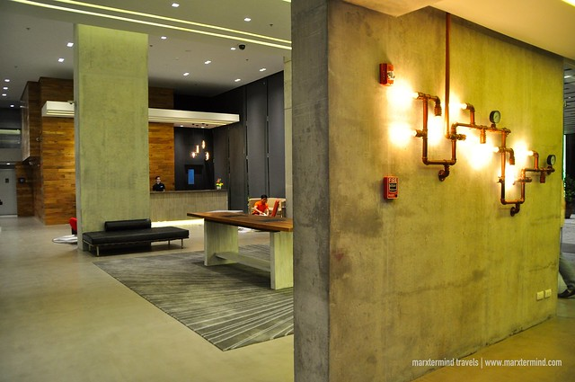 Industrial Designed Interior B Hotel Quezon City
