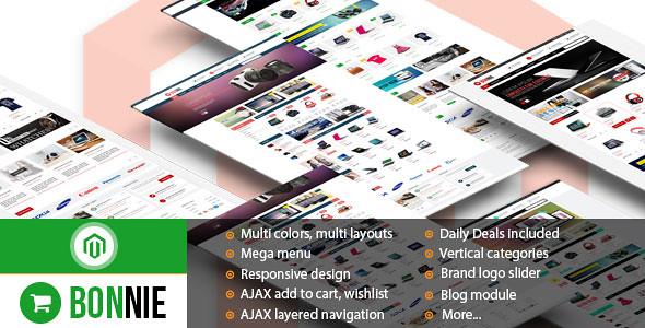 Bonnie - Premium Responsive Magento Theme v1.0