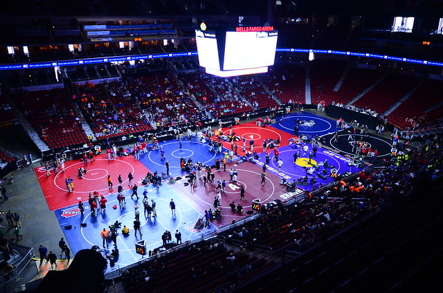 State Wrestling: Day 1
