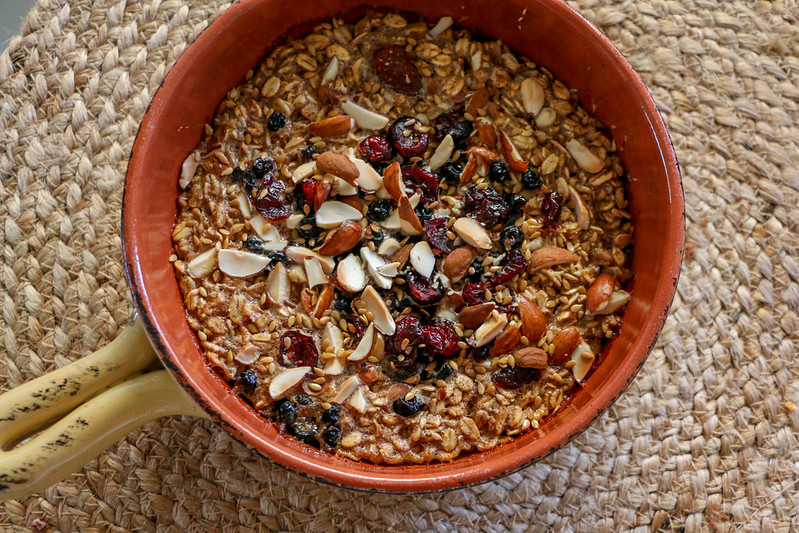 01.25. Baked Coconut Oatmeal