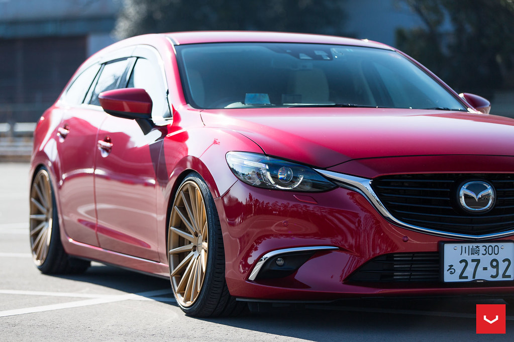 mazda 6 atenza wagon - vossen vfs-1 and vfs-2 - mondera ja… | flickr