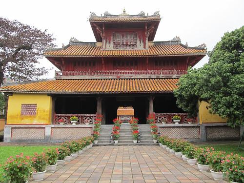 La Citadelle de Hué: le Pavillon des Splendeurs