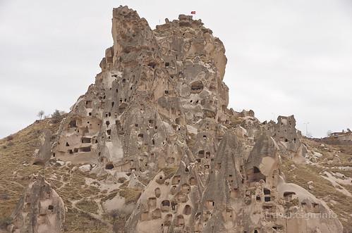 【写真】東欧周遊 : ウチヒサール城砦