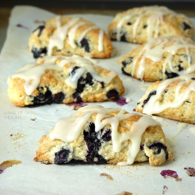 Blueberry-Lemon Scones