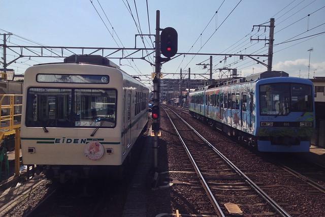 2016/01 叡山電車修学院駅 #02