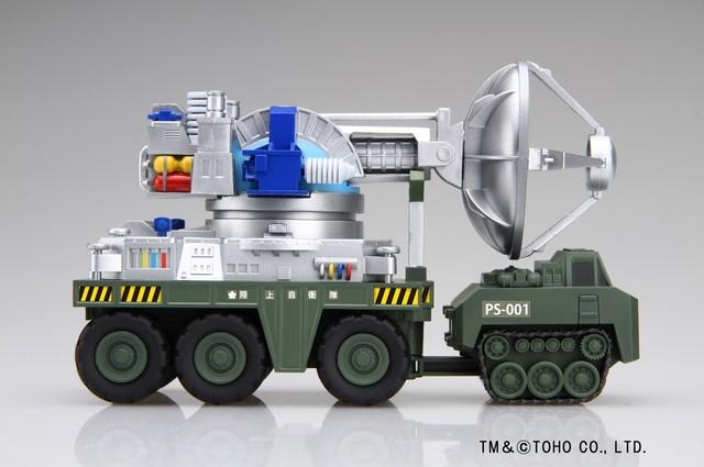 FUJIMI 哥吉拉 / 66式 Maser殺獸光線車 組裝模型