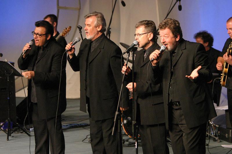 New Swing Quartet in The Golden Gate Quartet - foto Uroš Zagožen