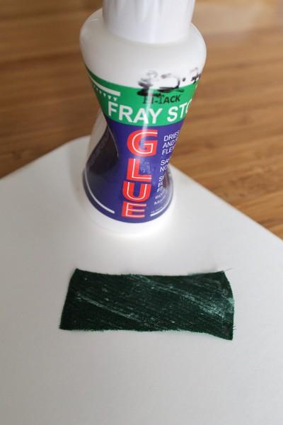 Fabric glue test - Misericordia