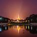 Shwedagon Pagoda at Sunset, Yangon, Myanmar by syukaery