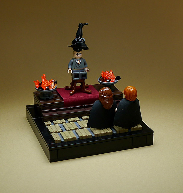 LEGO Harry Potter vignettes #004 - The Sorting Hat