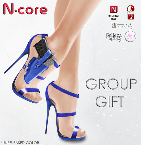 "N-core New GROUP GIFT Nika ""Electric"" (Unreleased color)"