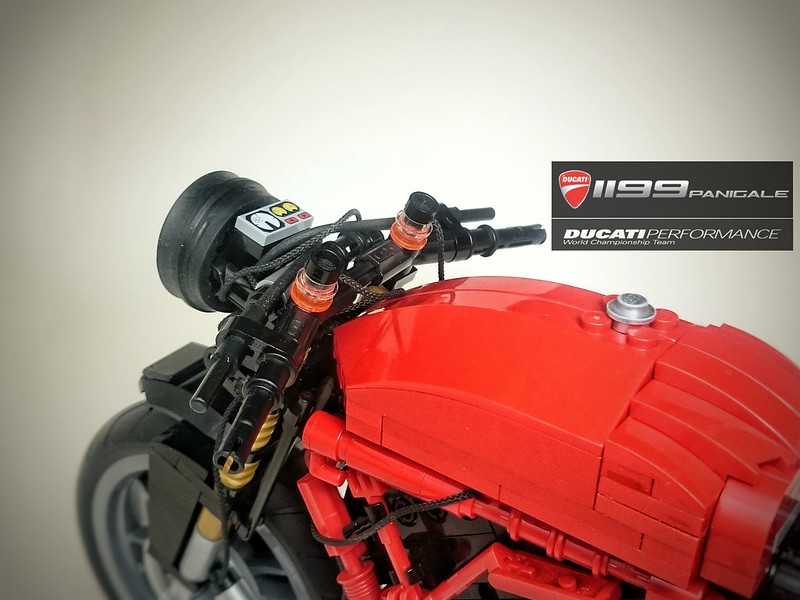 LEGO Ducati 1199 Panigale (Without the cover)
