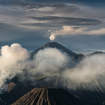 The Great Mountain Mahameru, East Java.