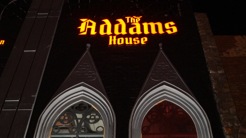 #the addams house