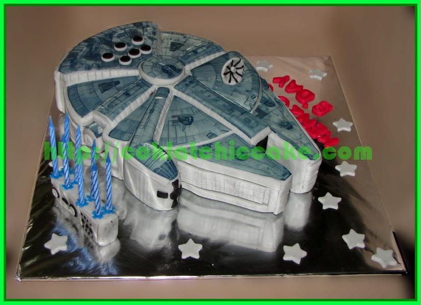 Cake Millenium Falcon Star Wars