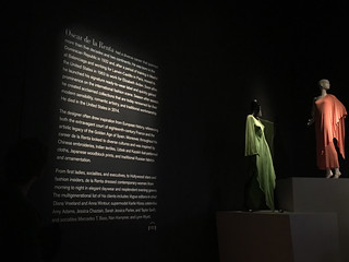 De Young Museum - Oscar de la Renta beginning