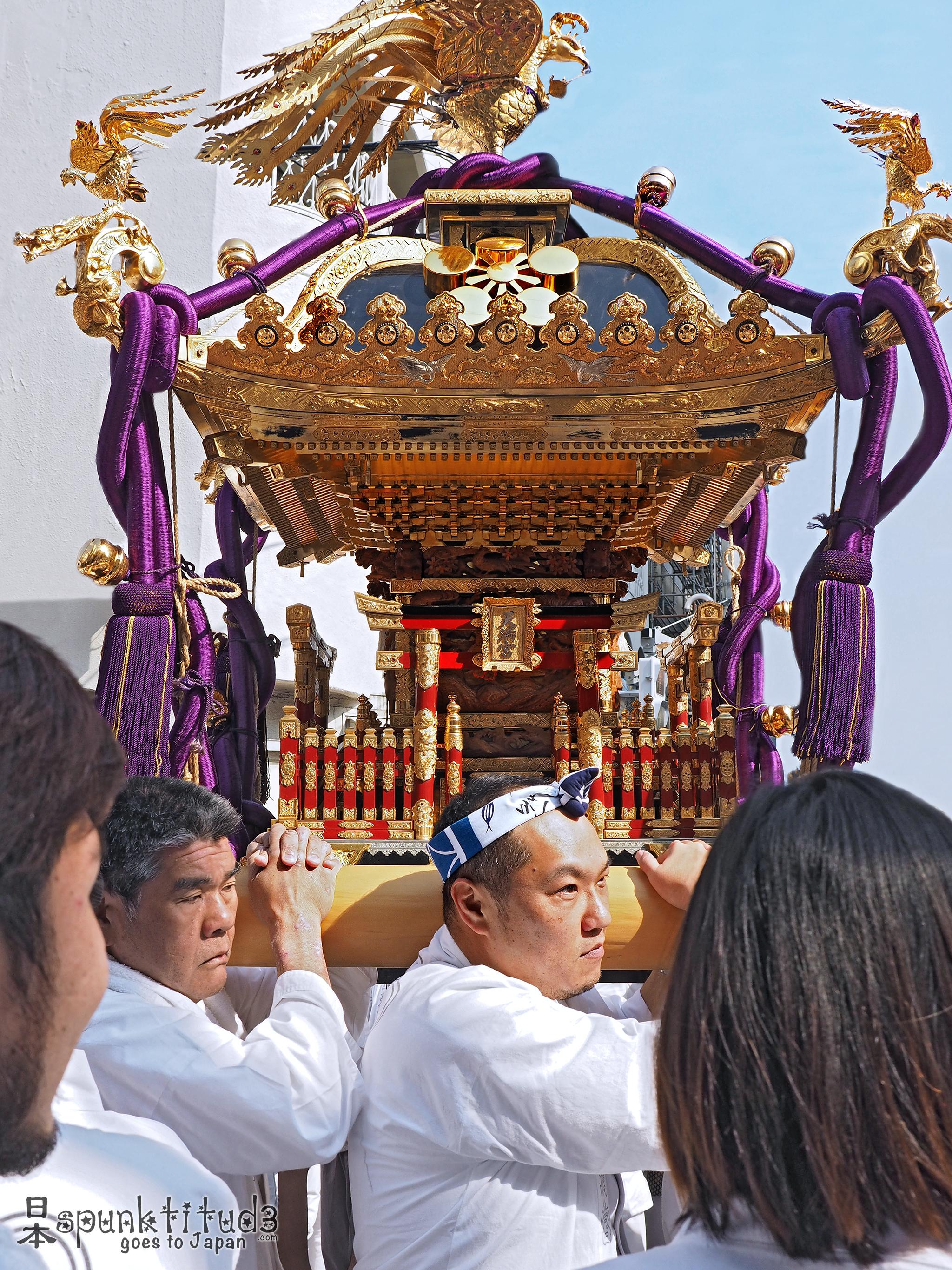 Yushima Tenjin - Mikoshi Parade