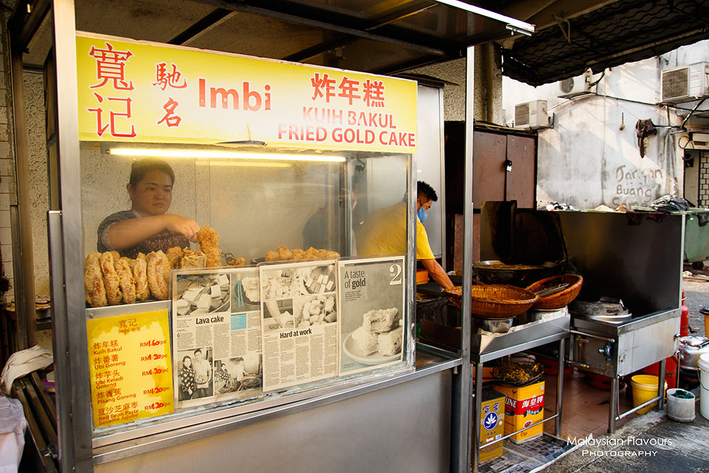 Mei Sin Eating Shop Imbi KL fried nian gao