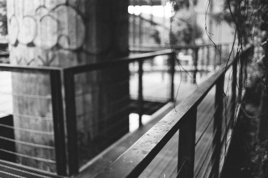 電影公園 西門町 Taipei, Taiwan / Kodak TRI-X 400 / Nikon FM2 有點忘記大光圈的畫面效果是什麼,隨意補拍一張。  Nikon FM2 Nikon AI AF Nikkor 35mm F/2D Kodak TRI-X 400 / 400TX 3123-0039 2016-02-07 ~ 2016-04-04 Photo by Toomore