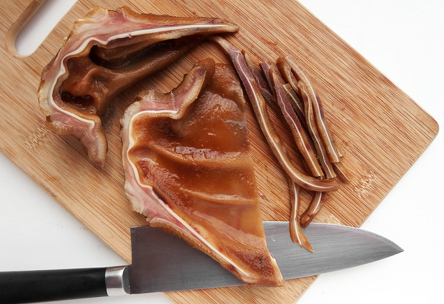 Slicing Pig Ears