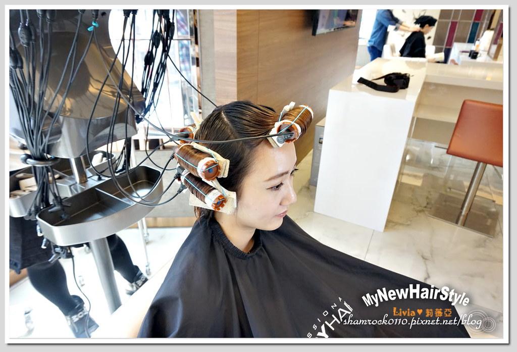 HappyHairTon短髮+墨綠色染髮 - 12