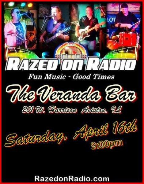 Razed On Radio 4-16-16