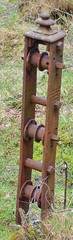 Fencing post winder