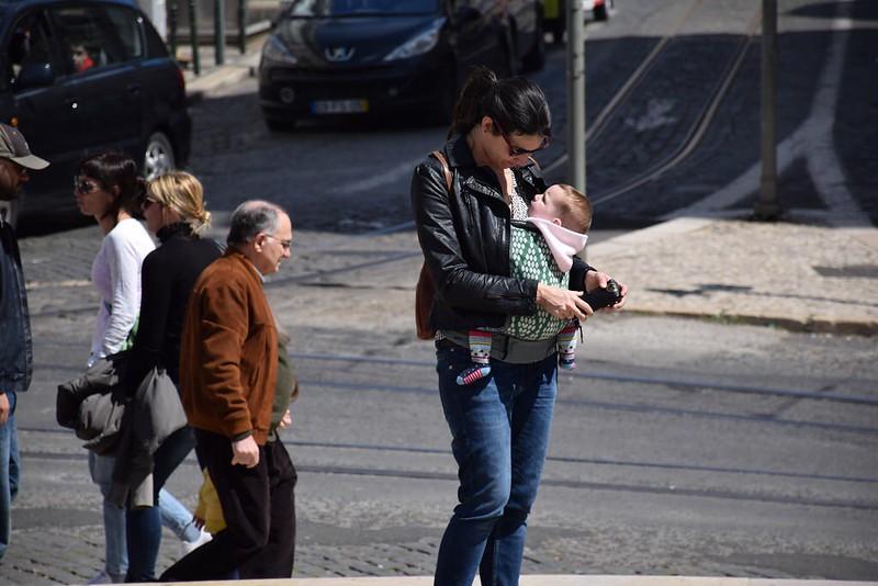 Con la Boba 4G por Lisboa.