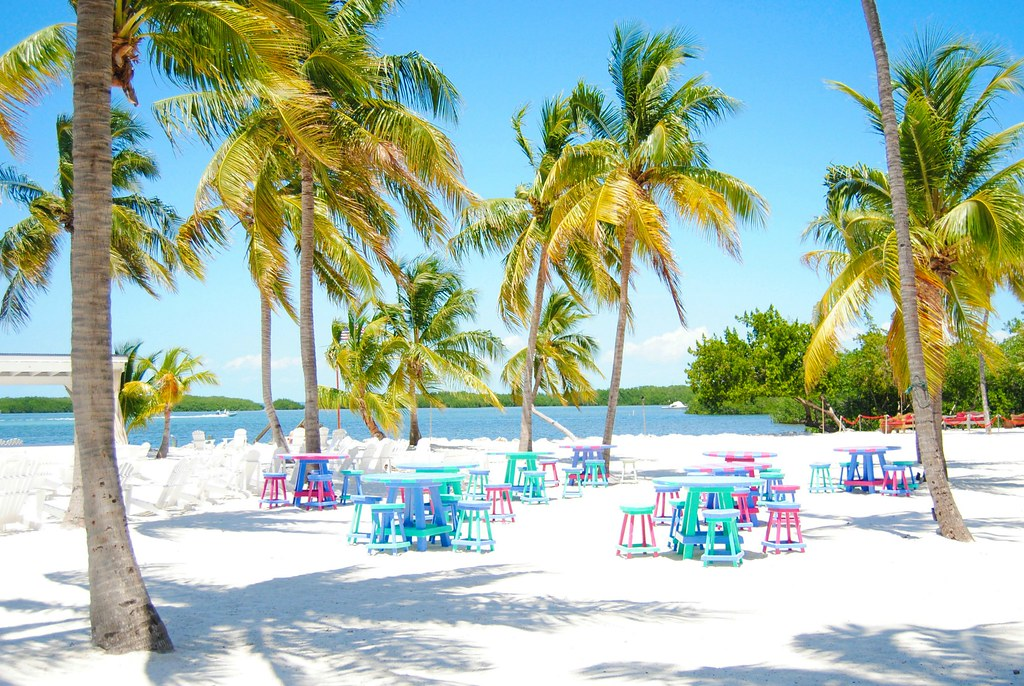 Islamorada Morada Bag Beach Cafe view